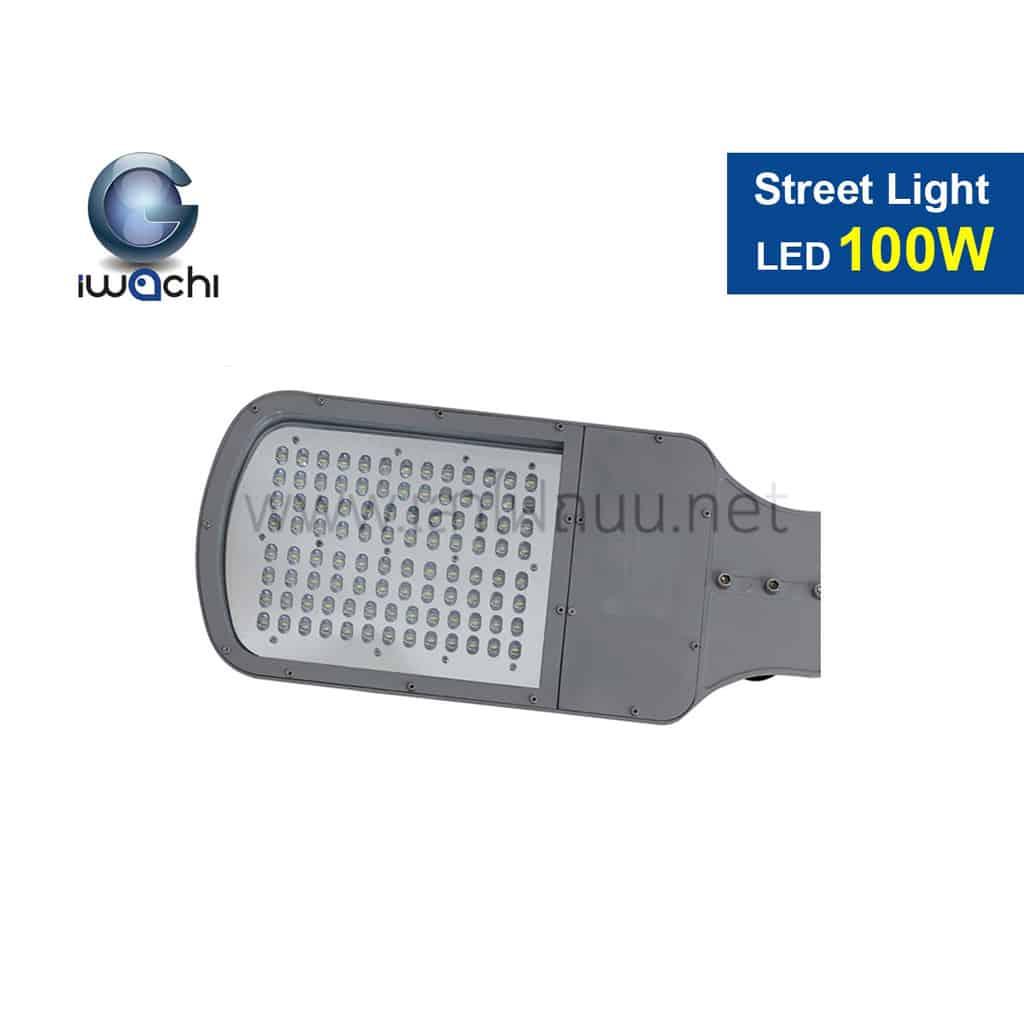 โคมไฟถนน LED Street Light 100w (แสงส้ม) IWACHI