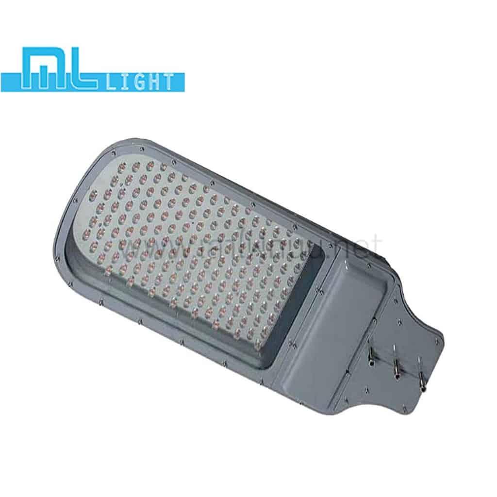 โคมไฟถนน led street light 100w วอร์มไวท์ ml light