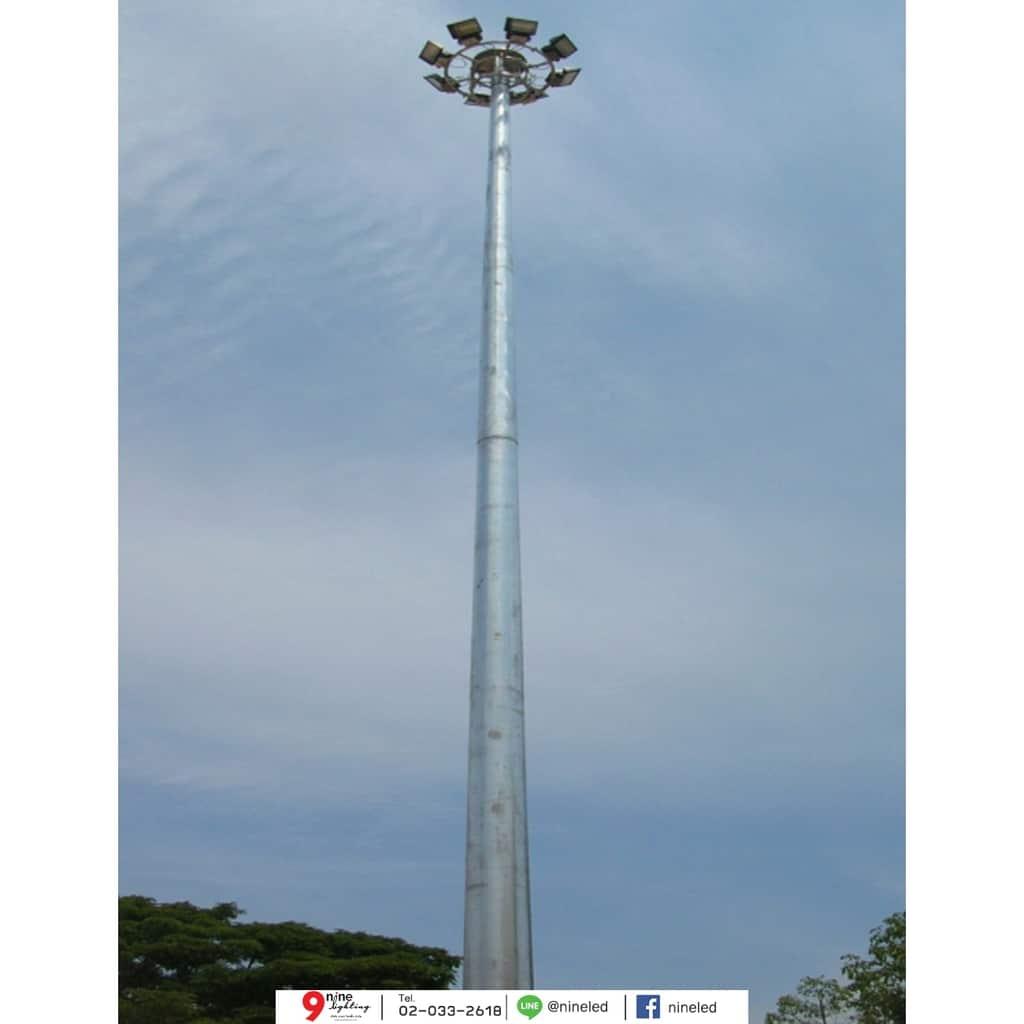 เสาไฮแมส สูง 30 เมตร