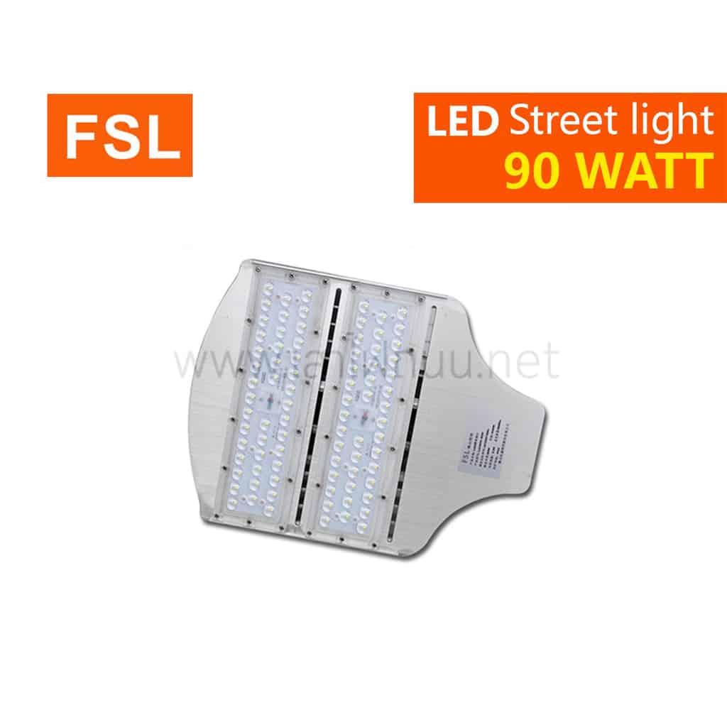 โคมไฟถนน led street light 90w วอร์มไวท์ fsl