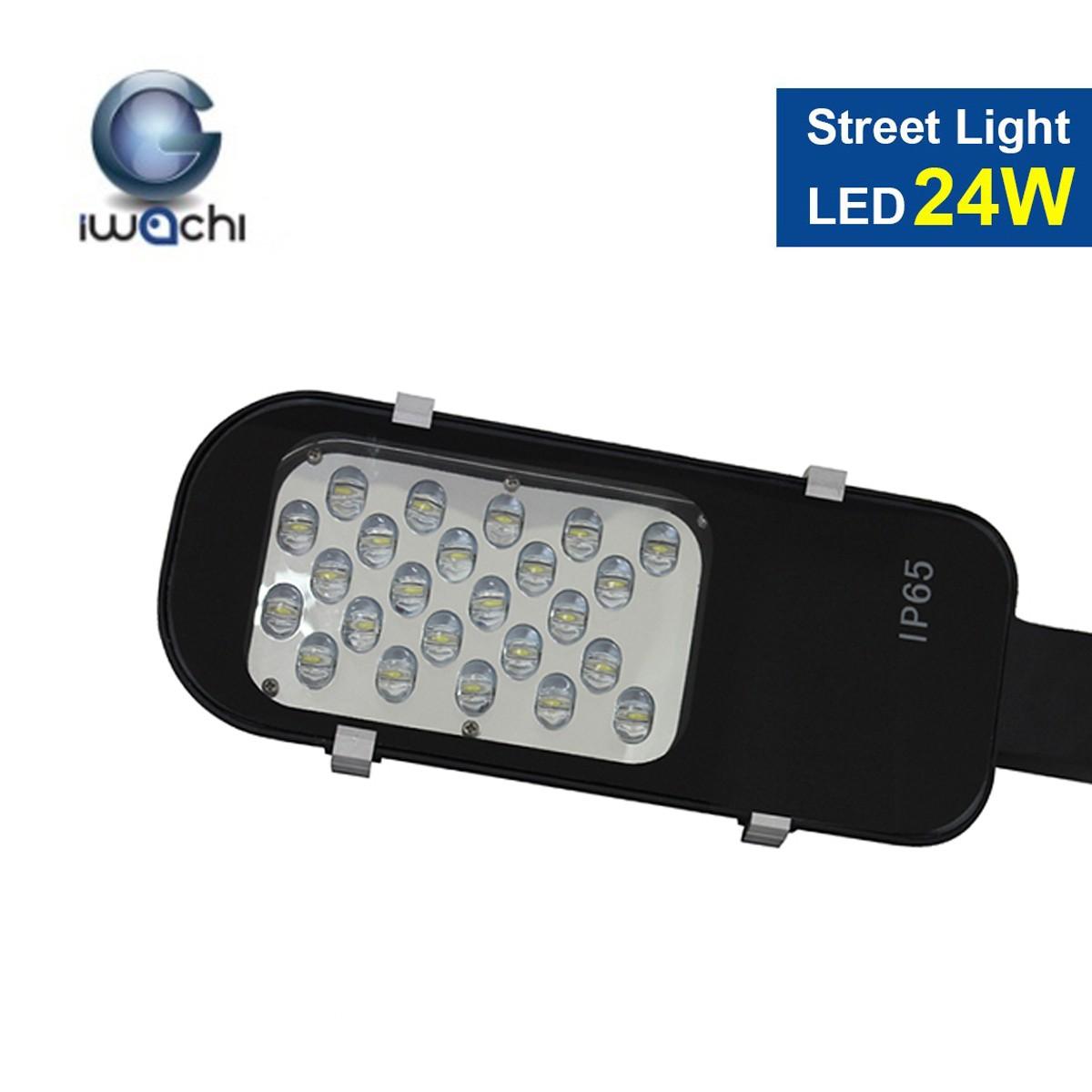โคมไฟถนน LED Street Light 24w (วอร์มไวท์) IWACHI