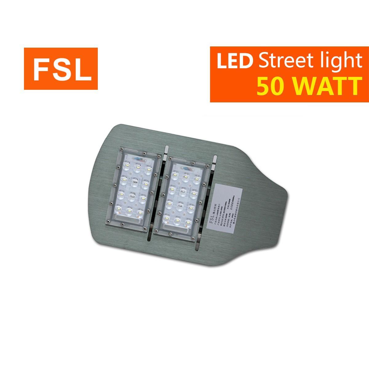 โคมไฟถนน led street light 50w วอร์มไวท์ fsl