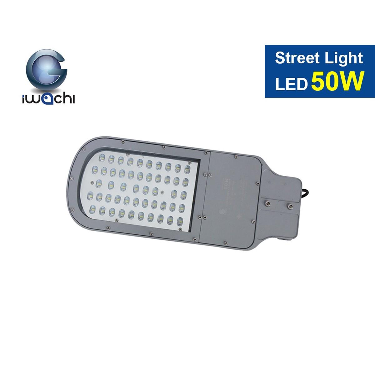 โคมไฟถนน LED Street Light 50w (แสงวอร์มไวท์) IWACHI