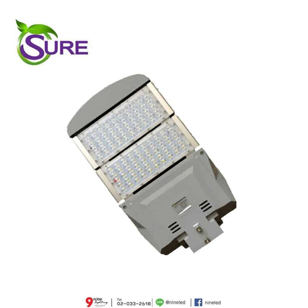 โคมไฟถนน LED Street Light 100w (วอร์มไวท์) SURE