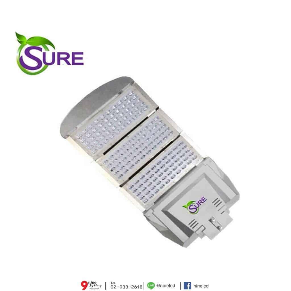 โคมไฟถนน LED Street Light 250w (วอร์มไวท์) SURE
