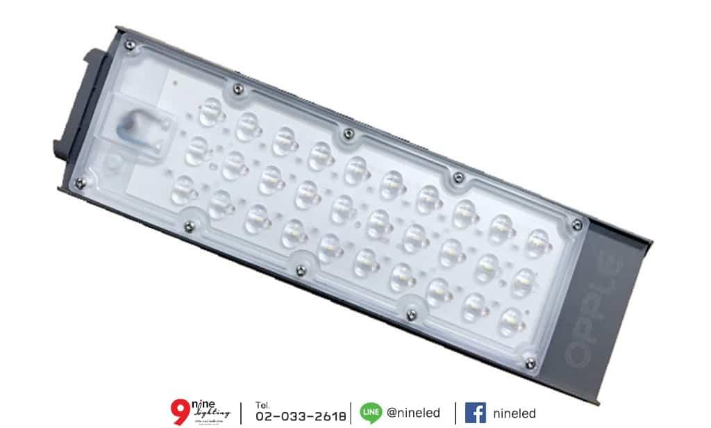 โคมไฟถนน LED Street Light EcoMax 30W (เดย์ไลท์) OPPLE แผงด้านหน้าโคม