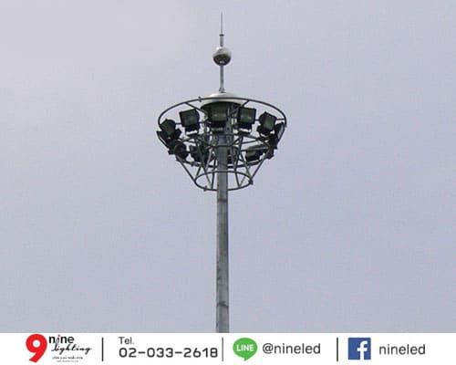 เสาไฮแมส สูง 42 เมตร
