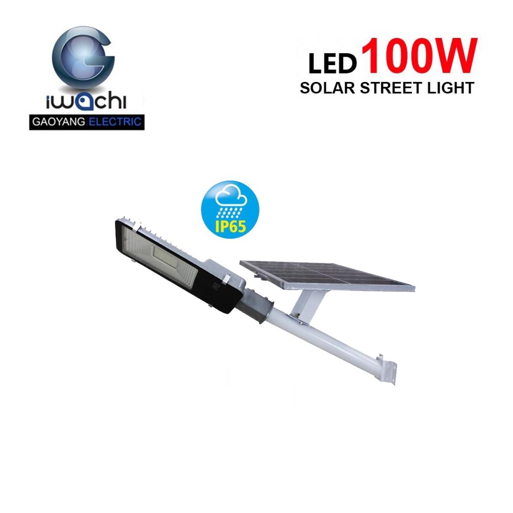 โคมไฟถนนโซล่าเซลล์ LED 100W SMD IWACHI